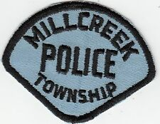 MILLCREEK TOWNSHIP OHIO OH POLICE PATCH (OLDER)