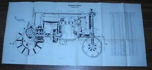 McCormick Deering International Harvester Farmall Tractor Model F-20 Schematic