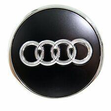 Original Audi Nabendeckel Schwarz Matt 8W0601170B LT7 NEU