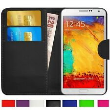 For Samsung Galaxy Note 3 4 2 5 8 9 10 Case Cover magnetic Flip Leather Wallet