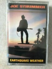JOE STRUMMER EARTHQUAKE WEATHER K7 TAPE sous blister new sealed rare c8