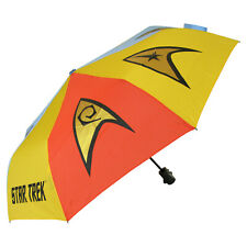 Original Star Trek Emblems Folding Umbrella - Xmas Presents Gift Ideas for Fans