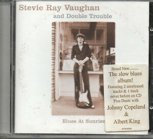 STEVIE RAY VAUGHAN & Double Trouble - Blues at Sunrise (2002) CD