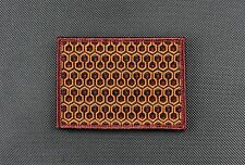 The Shining Overlook Hotel Carpet Morale Patch Redrum Stanley Kubrick Iron On