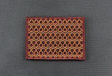 The Shining Overlook Hotel Carpet Morale Patch Redrum Stanley Kubrick VELCRO®