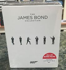 The James Bond Collection (Blu-ray Disc, 2016, 24-Disc Set)  BRAND NEW SEALED