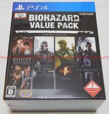 PS4 BIOHAZARD 4 5 6 Origins Collection Value Pack Soundtrack CD Japan CPCS-01150