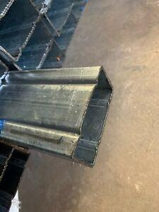 RHS  Groove Pre Zinc, steel tube 100x50x2.0mm - 7.3m/8m (Z2705 - C35)