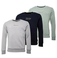 Mens Jack And Jones Cotton Stylish Top Crew Neck Sweatshirt Sizes from S to XL