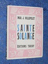 Sainte Solange Mgr. J. VILLEPELET