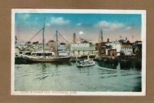 Gloucester,MA Massachusetts,Scene in Harbor Cove used 1933