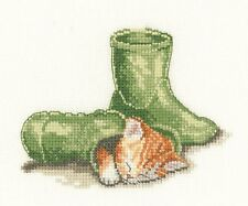 HERITAGE CRAFTS PUSS IN BOOT COUNTED CROSS STITCH KIT PETER UNDERHILL DARLINGS