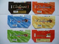 Wikkels Chocolade Jacques  chocolat- omslagen - emballages  Calineo wrappers