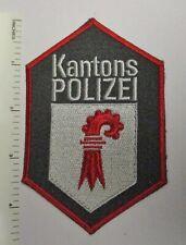 BASEL SWITZERLAND KANTONS POLIZEI POLICE PATCH Vintage Original SWISS