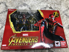 IRON SPIDER SH Figuarts Avenger Infinity War Tamashii Nations Figure Marvel New
