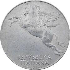 Italia Italy 10 Lire 1949 KM#90 Ulivo -Pegasus (it-15)