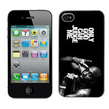 Tupac 2pac case pour Iphone 4 & 4s housse de protection rigide (5) i phone mobile