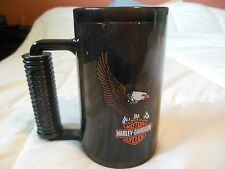 Harley Davidson Freezer Glass_Mug_Eagle_Motorcycle_Frozen_Beer