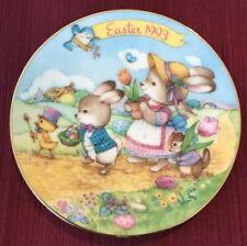 """Avon Collectible Decorative Plate - Easter 1993 - """"Easter Parade"""" - Gruc"""