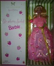 Strawberry Sorbet Barbie Doll Avon Exclusive  Special Edition