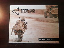 Mystery Ranch Military Product Catalog Booklet / 2013 / New / 34 pages Body Armo