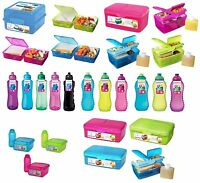 SISTEMA Lunch/Salad Boxes/Cubes/Bottles - Twist 'n' Sip - KLIP IT To Go