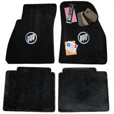 2005 - 2016 Buick LaCrosse Floor Mats Ebony / Black  HIGH-END QUALITY 32oz 2Ply