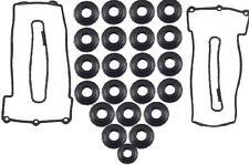 Fits: BMW E31 E32 E34 E38 E39 Left + Right Valve Cover Gasket Set Reinz Victor