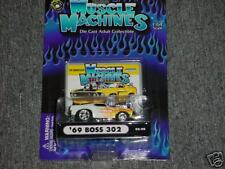 MUSCLE MACHINES '69 BOSS 302 02-98 FLAMED FREE USA SHIPPING