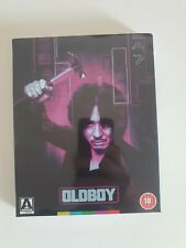 Oldboy Limited Edition Blu-ray (Arrow, 2 Discs, Region B) slipcover & booklet.