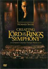 HOWARD SHORE ~ CREATING THE LORD OF THE RINGS SYMPHONY ~ DVD ~ BRAND NEW
