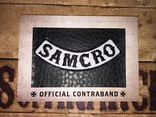 Sons Of Anarchy Trading Cards Seasons 1-3 Official Contraband Replica Patch.