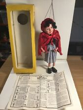Vintage Pelham Puppets Little Red Riding Hood  Within Its Original Box
