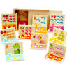 Montessori Math Toy Wooden Number Game Educational Learning Counting Game S