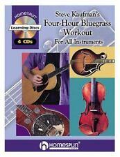 Steve Kaufman's Four-Hour Bluegrass Workout