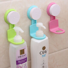 Suction Cup Rack Shower Gel Shampoo Soap Liquid Wall Mount Holder Bathroom Shelf