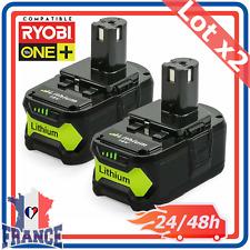 Batterie Compatible Ryobi One Plus 5.0AH 18V RB18L25 RB18L50 P108 P107 P104 P780