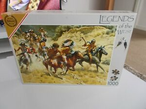 Falcon Legends Of The West 1000 Piece Jigsaw Puzzle Decoys Fast & Free Postage