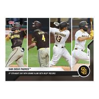 Padres - MLB TOPPS NOW® Card 136 - Print Run: 2133