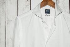 KAMAKURA Maker's Shirt White French Cuff Spread Collar Dress Shirt Xinjiang 80