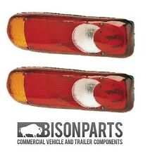 *FITS NISSAN CABSTAR REAR TAIL LIGHT LENS ECLIPSE TEARDROP RH / LH BP90-105 X 2