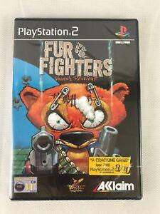 PS2 Fur Fighters Viggo's Revenge, (2002) UK Pal, Brand New & Sony Factory Sealed