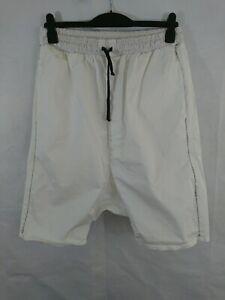 Mens Dark Label White Shorts Size XL