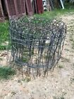 """Vtg Twisted Wire Garden Fence 15Ft Roll  16"""" Tall Cottage Farm Garden"""