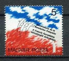 s7879) HUNGARY 1989 MNH**  French Revolution 1v