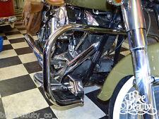 Harley Davidson Softail 86-99,Paramotore HD Fatboy Highway Protezione Motore