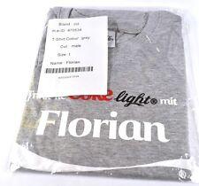 COCA-COLA COKE FLORIAN Camiseta gris tamaño L Nombre de Pila con