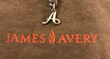 """James Avery  Charm Initial """"A"""" Sterling Silver - Pre-owned"""