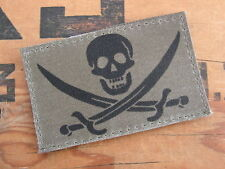SNAKE PATCH - CALICO JACK - US airsoft AFGHANISTAN COS OD KAKI special forces