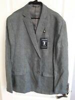 Mens Ralph Lauren Ultra Flex Sports Blazer - Size 50R - Gray/White